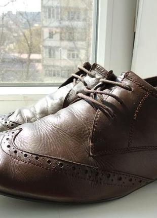 Брендові туфлі чоловічі мешти asos 45 [великобританія] (брогги...