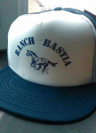 Кепка бейсболка ranch bastia [італія] (шапка-реперка)