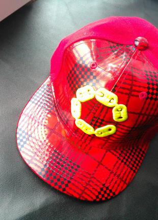 Кепка бейсболка c 8021 (шапка красная)