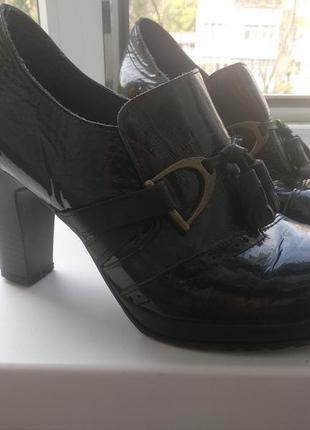 Брендові туфлі жіночі мешти jose saenz 36 [іспанія] (ботильоны...