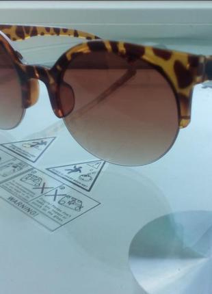 Окуляри жіночі леопардові cat eye 2019 очки женские