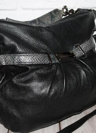 Стильная кожаная сумка американского дизайнера kenneth cole 10...