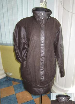 Оригинальная женская кожаная куртка echt leder. германия. лот 848