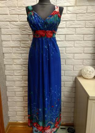 Красивое платье в пол stella