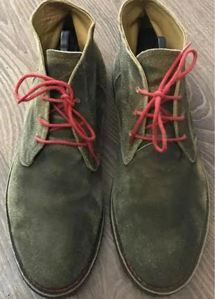 Замшевые мужские ботинки Wild Италия