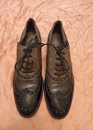 Туфли броги р.39