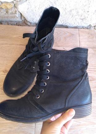 Ботинки кожа размер 40 осень весна