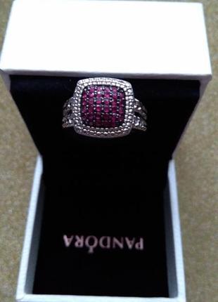Кольцо 925 серебро с камнями