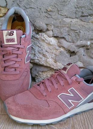 Оригинальные кроссовки nb new balance 996 размер 39 , натураль...