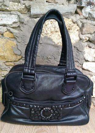 Marc by marc jacobs сумка оригинал 24*34*15 натуральная кожа