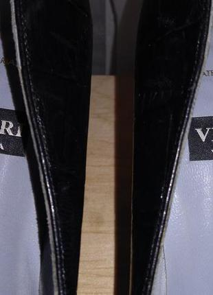 Vicari venezia винтаж туфли 39 размер vero cuoio италия натура...