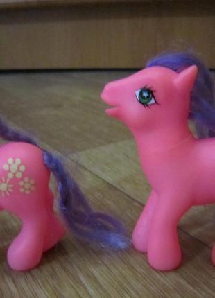Лошадка, пони Май Литл Пони, близнецы - 2 шт.