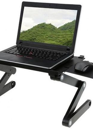 Столик-подставка трансформер для ноутбука Laptop Table T8