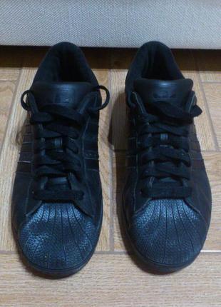 Кроссовки мужские черные кросівки чоловічі чорні adidas supers...