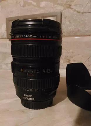Об'єктив Canon EF 24-105mm f/4L IS USM