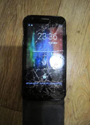 Смартфон, телефон Prestigio MultiPhone 5501 чехол беспровод. науш
