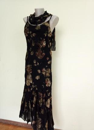 Шикарное нарядное английское платье