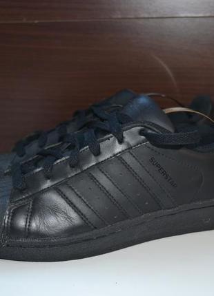 Adidas superstar 37.5р кожаные кроссовки