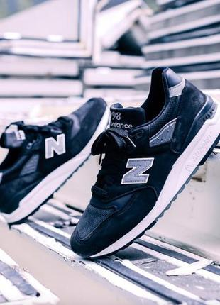 Кроссовки мужские черные кросівки чоловічі чорні new balance 9...