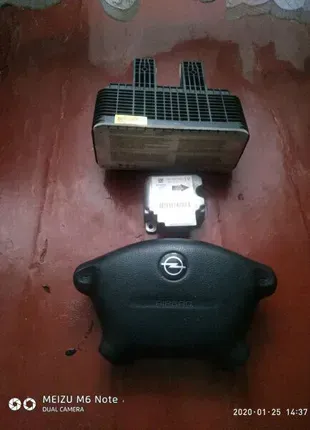 подушки airbag.блок airbag opel vectra b