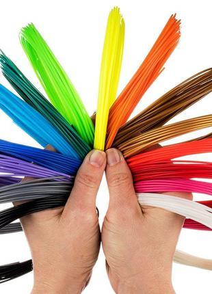 Набор PLA пластика для 3D ручки 10 цветов=100 метров