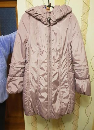 Плащ пальто большого размера
