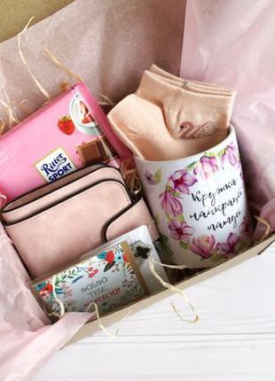 Подарок маме на 8 марта Подарунок для мами на 8 березня с коше...