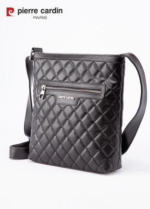 Женская сумка через плече pierre cardin