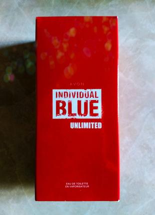 Туалетна вода Individual Blue Unlimited 100 ml