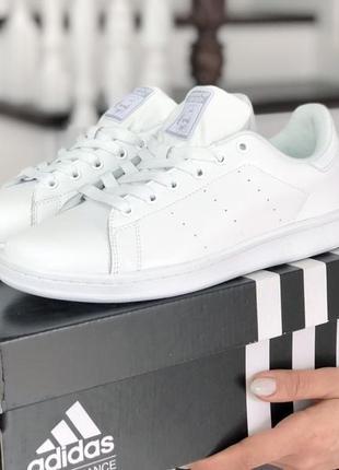 Adidas stan smith  white🔺женские кроссовки адидас стан смит белые