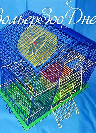 """Клетка для грызунов 40х22х39"""" дача плюс"""""""