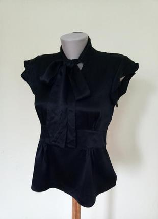 Брендовая шелковая блузочка 100% шелк