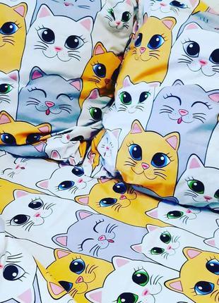Постельное белье котики