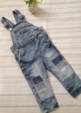 Джинсовый комбинезон, комбез, джинсы