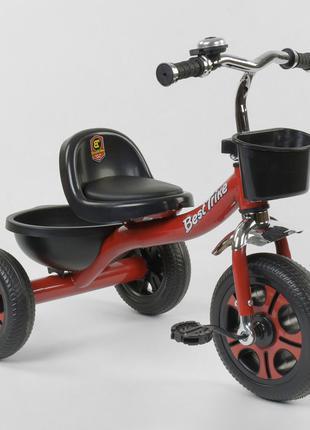 Детский трехколесный велосипед Best Trike 3577 красный
