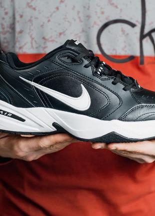 Кроссовки Nike Air Monarch IV (черно/белые)