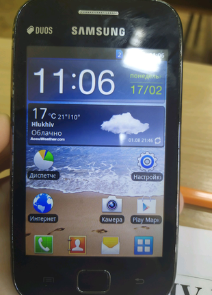 Samsung Galaxy ace gt s6802 duos