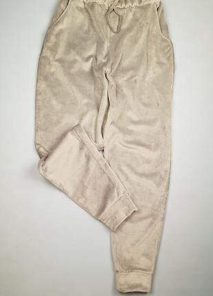 Теплые велюровые  штаны джоггеры  f&f p.12-14