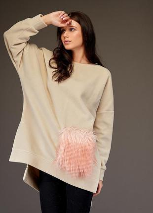 Свитшот свитер кофта худи толстовка оверсайз світшот