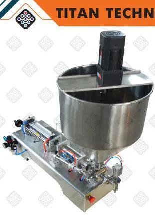 Дозатор поршневой пневматический 50-500 мл с нагревом и мешалкой