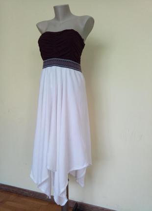 Красивенное легкое летнее платье