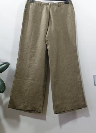 Льняные брюки van laack