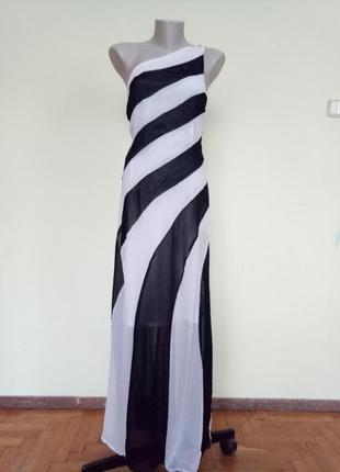Красивое легкое длинное платье