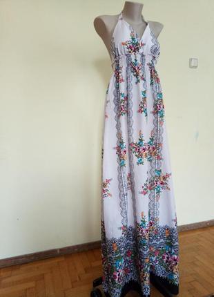 Брендовое легкое летнее платье