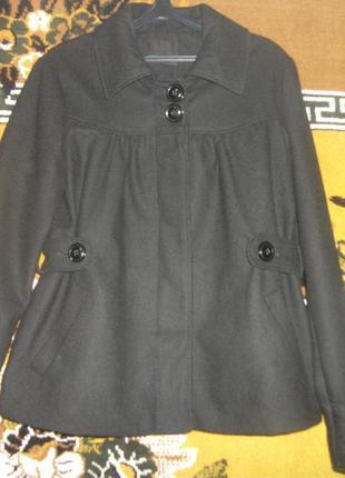 Полу-пальто черное