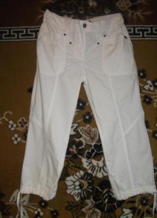 Бриджи ,брюки  белые wissmash