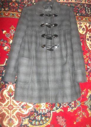 Полу-пальто,разлетайка свободного покроя