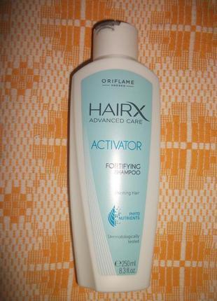 Шампунь-стимулятор росту волосся hairx