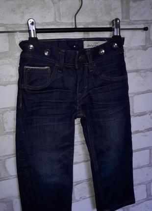 H&m logg стильные джинсики 1,5-2 г 92см