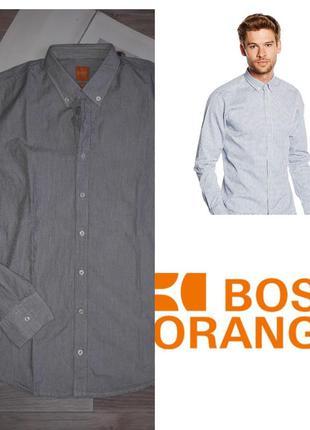 Hugo boss orange рубашка р с-м оригинал. сток